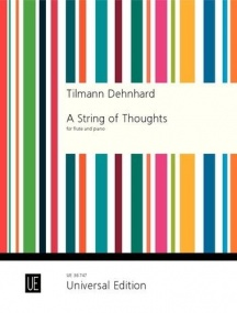Dehnhard: A String of Thoughts for Flute published by Universal