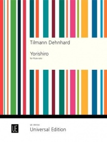 Dehnhard: Yorishiro for Flute published by Universal