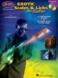 Exotic Scales And Licks For Guitar published by Hal Leonard