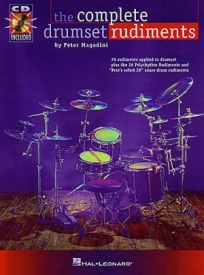 The Complete Drumset Rudiments Book & CD published by Hal Leonard