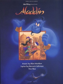 Aladdin 1992 Movie Soundtrack PVG published by Hal Leonard