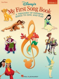 Disney My First Songbook Volume 2 for Easy Piano published by Hal Leonard