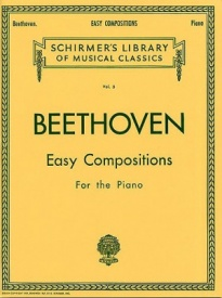 Beethoven: Easy Compositions For Piano published by Schirmer