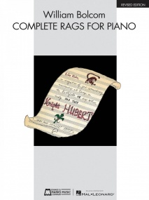 Bolcom: Complete Rags For Piano published by Hal Leonard