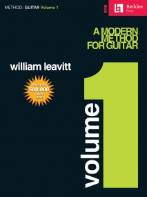 A Modern Method For Guitar: Volume 1 published by Hal Leonard Book Only