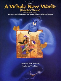 A Whole New World for Vocal Duet published by Hal Leonard