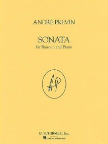 Previn: Sonata for Bassoon published by Schirmer