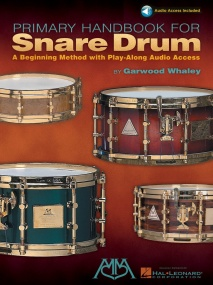 Primary Handbook For Snare Drum by Whaley published by Hal Leonard (Book/Online Audio)