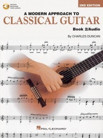 A Modern Approach To Classical Guitar 2 (Book/Online Audio) published by Hal Leonard