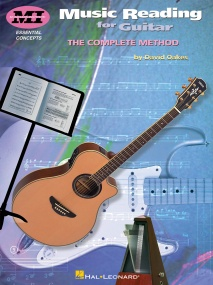 Oakes: Music Reading For Guitar published by Hal Leonard