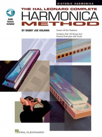 The Complete Harmonica Method: Diatonic Book & CD published by Hal Leonard