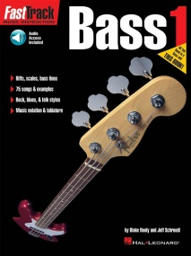 Fast Track Bass: 1 published by Hal Leonard (Book/Online Audio)