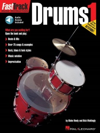 Fast Track: Drums - Book One published by Hal Leonard