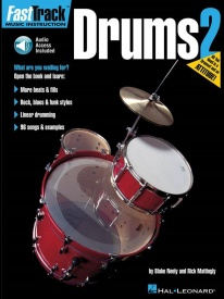 Fast Track: Drums - Book Two published by Hal Leonard