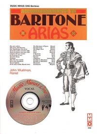 Music Minus One - Famous Baritone Arias Book & CD