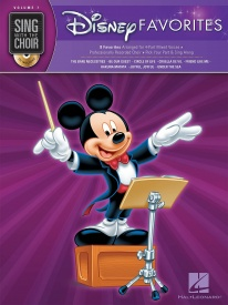 Sing With The Choir Volume 7: Disney Favorites (Book And CD) published by Hal Leonard
