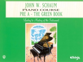Schaum Piano Course Book Pre A (Green) published by Alfred