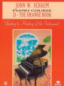 Schaum Piano Course Book D (Orange) published by Alfred
