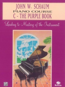 Schaum Piano Course Book C (Purple) published by Alfred