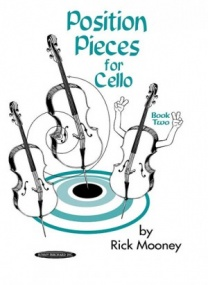 Mooney: Position Pieces Book 2 for Cello published by Alfred
