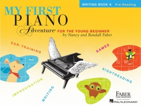 My First Piano Adventure - Writing Book A - Pre-Reading