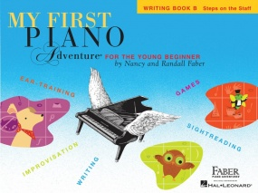 My First Piano Adventure - Writing Book B