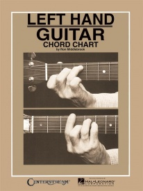 Left Hand Guitar Chord Chart published by Hal Leonard