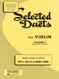 Selected Duets Volume 1 for Violin published by Rubank