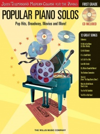 Popular Piano Solos: First Grade - Pop Hits, Broadway, Movies And More! published by Willis