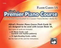 Alfred's Premier Flash Cards 1A