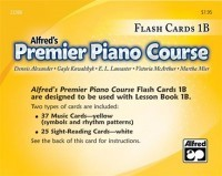Alfred's Premier Flash Cards 1B