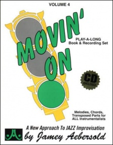 Aebersold 4 Movin' On Book & CD for All Instruments