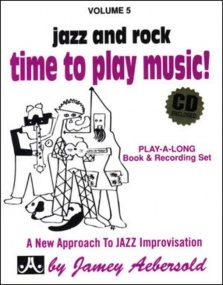 Aebersold 5 Time To Play Music Book & CD for All Instruments