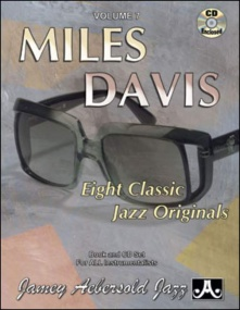 Aebersold 7 Miles Davis Book & CD for All Instruments