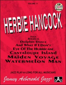 Aebersold 11 Herbie Hancock Book & CD for All Instruments