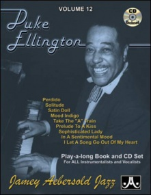 Aebersold 12 Duke Ellington Book & CD for All Instruments