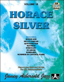 Aebersold 18 Horace Silver Book & CD for All Instruments