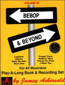 Aebersold 36 Bebop and Beyond Book & CD for All Instruments