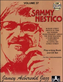 Aebersold 37 Sammy Nestico Book & CD for All Instruments