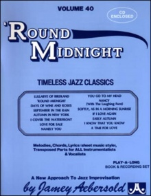 Aebersold 40 'Round Midnight Book & CD for All Instruments