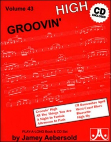 Aebersold 43 Groovin' High Book & CD for All Instruments
