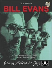 Aebersold 45 Bill Evans Book & CD for All Instruments