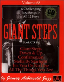 Aebersold 68 Giant Steps Book & CD for All Instruments
