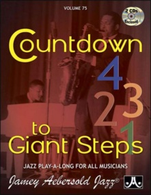 Aebersold 75 Countdown To Giant Steps Book & CD for All Instruments