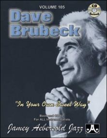 Aebersold 105 Brubeck Book & CD for All Instruments