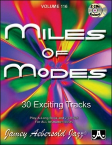 Aebersold 116 Miles Of Modes Book & CD for All Instruments