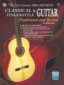 21st Century Pro Method: Classical & Fingerstyle Guitar -- Traditional and Beyond Book & CD published by Alfred