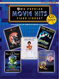 Popular Piano Library: Movie Hits, Level 5 Book & CD published by Warner