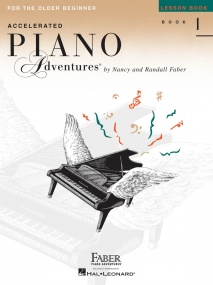 Accelerated Piano Adventures: Lesson Book 1