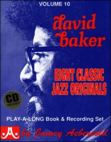 Aebersold 10 David Baker Book & CD for All Instruments